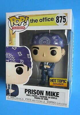 Funko Pop The Office PRISON MIKE Hot Topic EXCLUSIVE #875 NIB