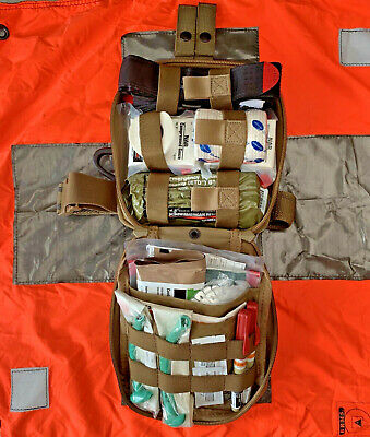 North American Rescue First Aid:Combat Casualty Response Kit-Medic/Leg Rig Prep