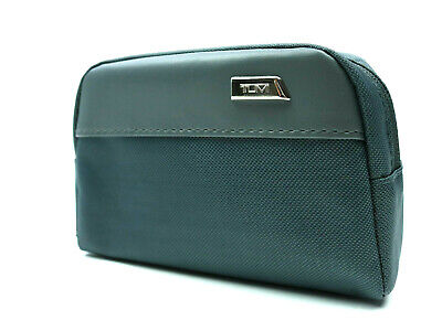 Tumi for Delta Airlines Gray Travel Soft Case Amenity Kit 1st Class Fliers