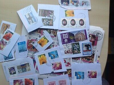 550 Grams of Unsorted Charity sourced World and Commonweath Stamps with SCARER @