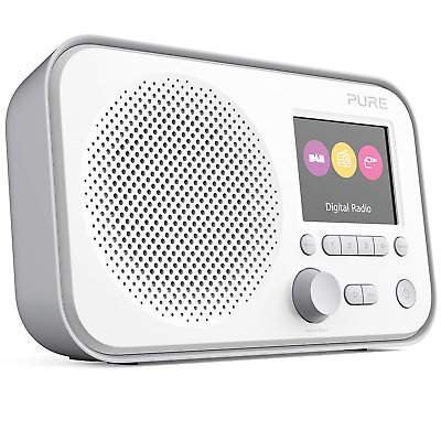 Pure Elan E3 Portable Digital DAB/DAB+ and FM Radio with Alarm - Colour Screen -