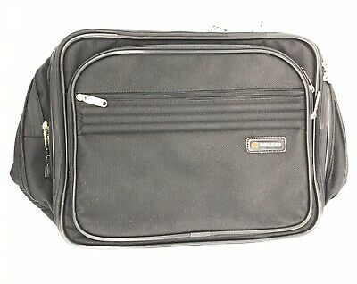 DELSEY Duffel Carry On Travel Overnight Bag (15 x 9 x 11) BLACK