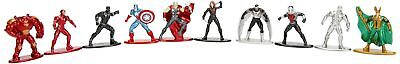 JAZW Ares–98977–Metal Figs–Marvel Characters Pack of 10