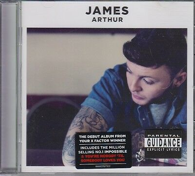 James Arthur CD incl: You're Nobody 'Til Sombody Loves You 2013