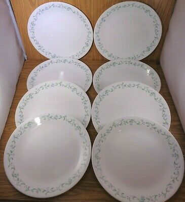"Corelle 10 1/4"" COUNTRY COTTAGE Dinner Plates Set of 8"