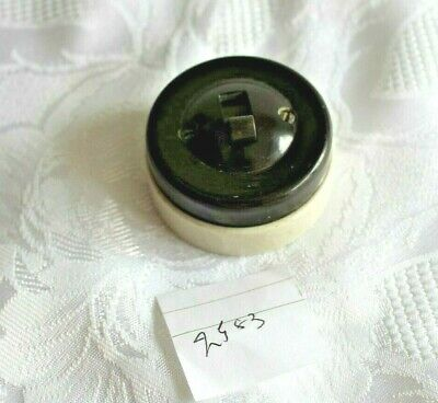 architectural salvage bakelite electric light toggle switch 2583
