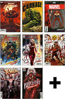 ABSOLUTE CARNAGE & CARNAGE-IZED COMICS ~ Variants & Exclusive Marvel Comic Books