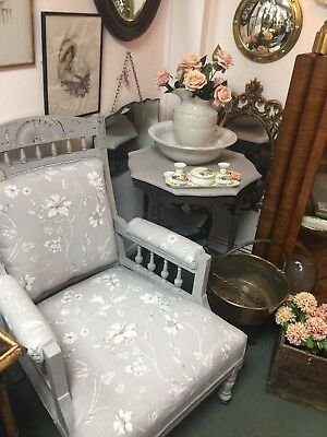 Recently Renovated Victorian Armchair