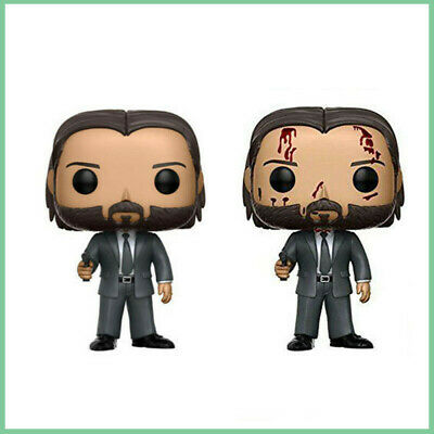 Funko Pop Movies John Wick Chapter 2 Vinyl Action Figure Toys Model 10CM Collect