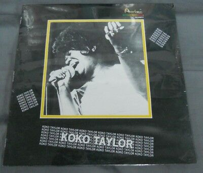 Koko Taylor -1990 Self Titled- Mexican Lp Still Sealed Blues Hard To Find