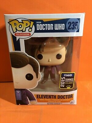 Funko Pop Television Doctor Who Eleventh 235 Exclusive 2015 Summer Convention !