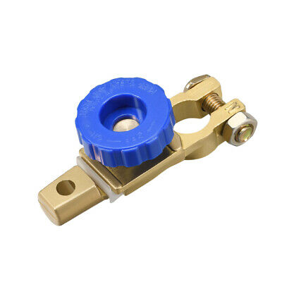 Car Battery Master Disconnect Switch Top Post Terminal Clamps Copper