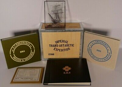 Ernest Shackleton Deluxe Collector Box Set - Endurance Expedition - Limited Ed
