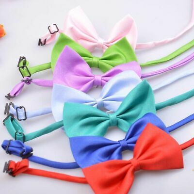 Pet Bow Tie Adjustable Multicolor 50/100 Pcs Rabbit Cat Dog Grooming Accessories