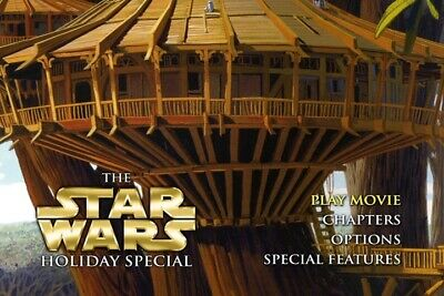STAR WARS The Holiday Special Custom DL-DVD Christmas Special Skywalker Jedi
