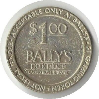 Bally's Park Place Casino Hotel & Tower One Dollar Gaming Token Atlantic City