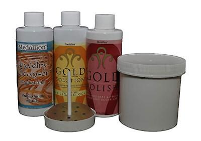Medallion Gold Plating System, Liquid Gold Plating Immersion System For Jewelry
