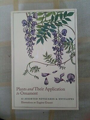 Eugene Grasset Plants and Their Application to Ornament  Notecards and Envelopes