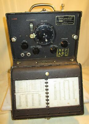 1940's WWII Signal Corps FREQUENCY METER BC-221-B
