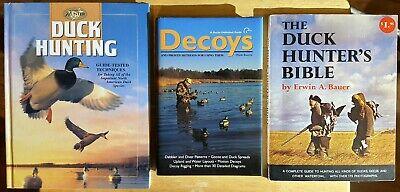 Duck Hunting Book Lot