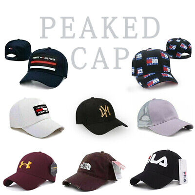 Mens Womens Baseball Cap Under Armour/Champion/NY Snapback Hip-Hop Sport Sun Hat