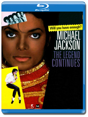 Michael Jackson the legend continues Blu-Ray