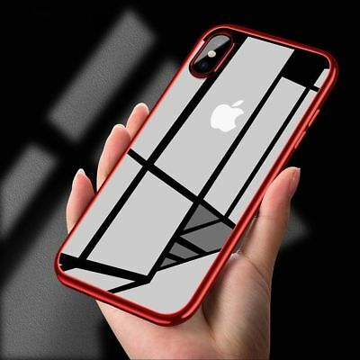 For Apple iPhone X 8 7 XS Max Plus Silicone Case Cover ShockProof 360 Hybrid Hot