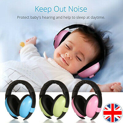 Kids Baby Ear Defenders Noise Reduction Protectors Children Muff UK