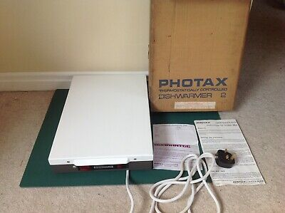 Photax Darkroom Dishwarmer 2 Hotplate Dish Warmer Photos Photograph Developing
