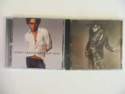 LENNY KRAVITZ LOT OF 2 CDs = Greatest Hits/Mama Said - ROCK/POP