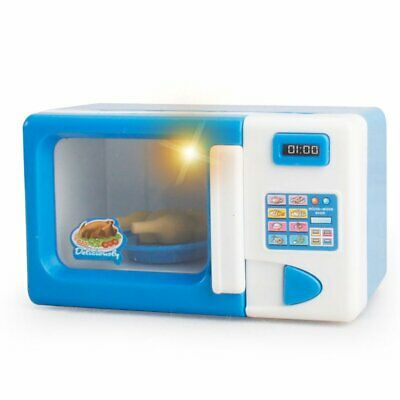 Microwave Oven Pretend Play Appliance Children Pretend Play Kitchen Toys 2g