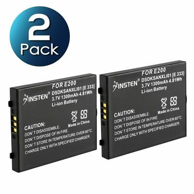 2 Pack Li-Ion Replacement Battery For Sandisk Sansa e200 Series