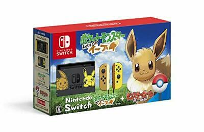 Nintendo Switch Pokemon Let's Go! Eevee set (with monster ball Plus)