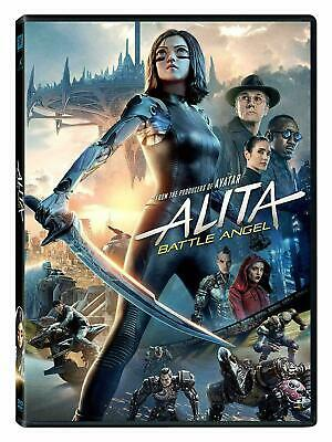 Alita Battle Angel 2019 DVD. New and sealed. Free delivery