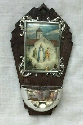 Vintage Italy Modern Holy Water Font