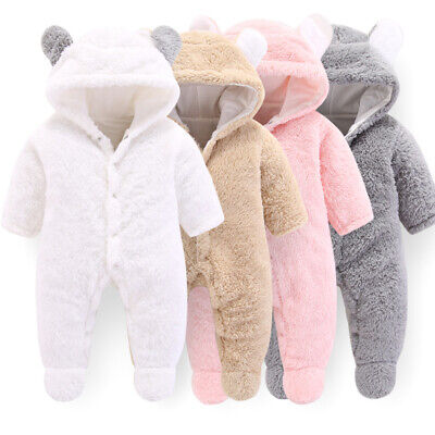 Baby Snowsuit Pramsuit /'Face/' Boys or Girls Sizes 3-12 Months 1168
