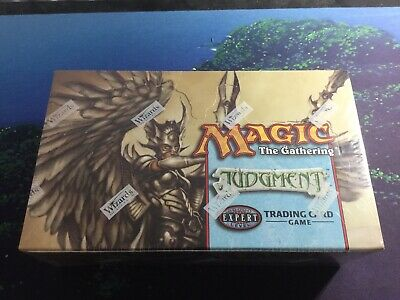 Mtg, Judgment SEALED Booster Box.