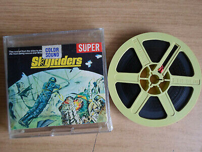 Super 8mm sound 1X200 THE SKY RIDERS. James Coburn classic.