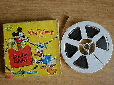 Super 8mm colour silent 1X200 GOOFY'S GLIDER. Walt Disney cartoon.