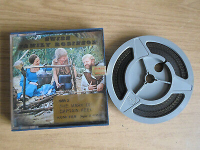 Super 8mm sound 1X200 SWISS FAMILY ROBINSON : MARK OF CAPTAIN KEEL. TV series.