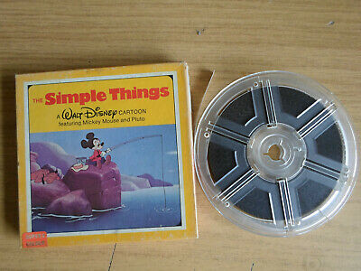 Super 8mm colour silent 1X200 SIMPLE THINGS. Walt Disney cartoon.