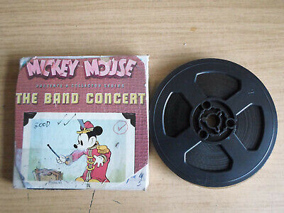 Super 8mm sound 1X200 THE BAND CONCERT. Walt Disney classic cartoon.