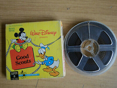 Super 8mm colour silent 1X200 CHEF DONALD. Walt Disney cartoon.