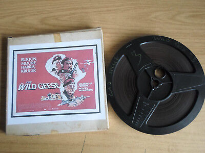 Super 8mm sound 1x400 THE WILD GEESE Part 3. Richard Burton, Roger Moore.