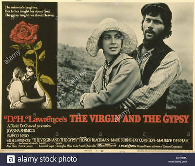 Super 8mm sound 1X50 THE VIRGIN AND THE GYPSY trailer. 1970 Franco Nero drama.