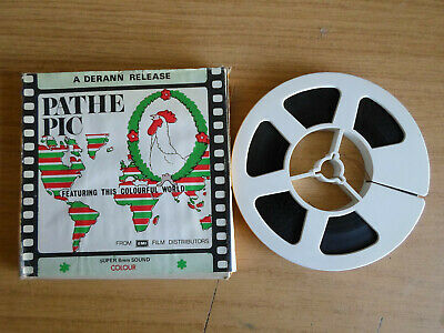 Super 8mm sound 1X200 PATHE PICTORIAL : South Sea Islands.