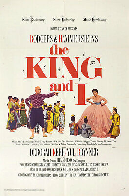 Super 8mm sound 1X50 THE KING AND I Trailer. Musical classic.