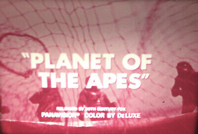 16mm Film PLANET OF THE APES Trilogy Trailers TV Spots Sci Fi