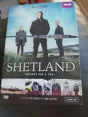 Shetland DVD the complete series 1 & 2 region 1