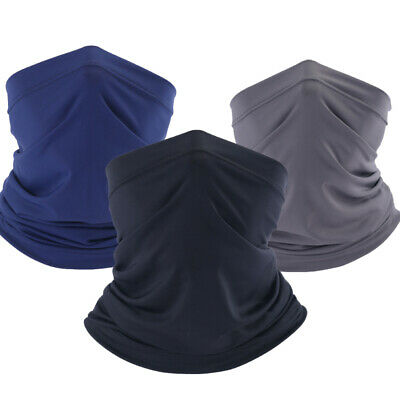 Anti-Dust Cooling Neck Gaiter Scarf Face Motorcycle Cycling Riding Bandana